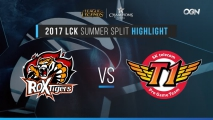 [H/L 2017.06.22] ROX vs SKT Game1 - 2017 LCK Summer Split (롤챔스 하이라이트)