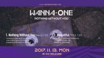 "[Preview] Wanna One ""1-1=0 (NOTHING WITHOUT YOU)"" 미리듣기 & 트랙리스트"