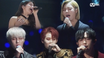 SOLAR, WHEEIN&JOOHEON&Kim Jae Hwan, HA SUNGWOON_Eyes, Nose, Lips(눈, 코, 입) / TAEYANG│2018 MAMA FANS′